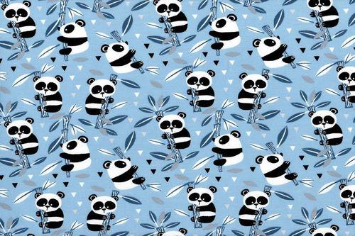Pandas Bambu Azul