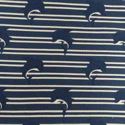 Punto Camiseta delfines ( 52 x 140 cm)