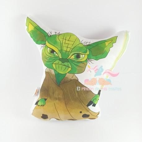Cojín Yoda