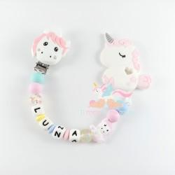 "Pack silicona ""unicornio rosa"""