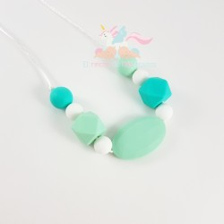 "Collar de Lactancia ""SWEET MINT"""