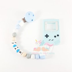 "Pack silicona ""GAME-BOY BLUE"""