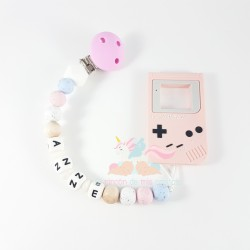 "Pack silicona ""GAME-BOY PINK"""