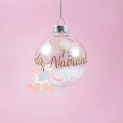 Bola de Navidad Transparente