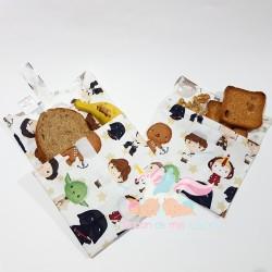Pack Porta-bocadillos + bolsita snacks