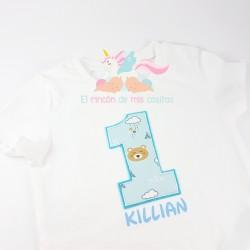 Camiseta cumpleañera