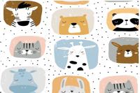 Animales cuadrados